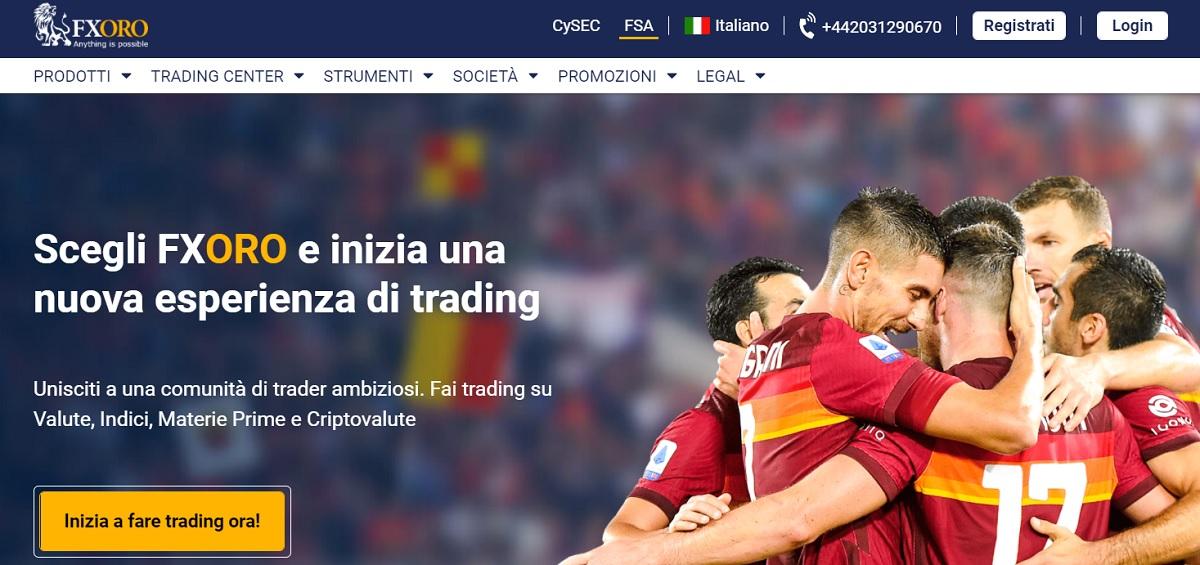 FXORO home page