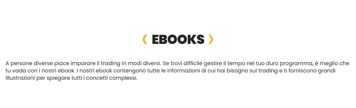 Ebook per imparare Sagatrade